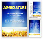 Agriculture and Animals: Agricultural Land Word Template #11461