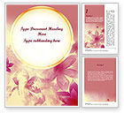 Holiday/Special Occasion: Romantic Theme Word Template #11466