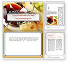 Food & Beverage: Bar at a Hotel Word Template #11467