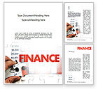 Financial/Accounting: Identifying Trends Word Template #11470