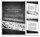 Cars/Transportation: Plantilla de Word - servicios de transporte #11501