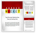 Education & Training: Where Question Word Template #11530