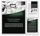 Careers/Industry: Market Research Analyst Word Template #11541