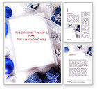 Holiday/Special Occasion: Christmas Greeting Card Word Template #11542