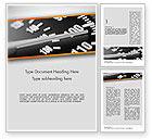 Cars/Transportation: Modèle Word de excès de vitesse #11544