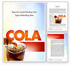 Food & Beverage: Cola Drinks Word Template #11545