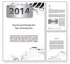 Financial/Accounting: New Financial Year Word Template #11556