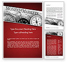 Financial/Accounting: Money and Markets Word Template #11559