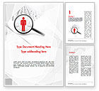 Careers/Industry: People Search Word Template #11568