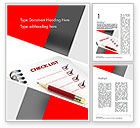 Education & Training: Checklist Word Template #11574