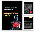 Medical: Respiratory Care Word Template #11586