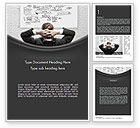 Business Concepts: Creativity at Work Word Template #11588
