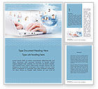 Business Concepts: Socioeconomic Business Activity Word Template #11589