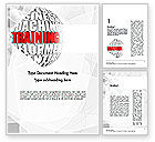 Education & Training: Training and Development Words Word Template #11609