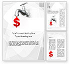 Financial/Accounting: Money Leak Word Template #11637