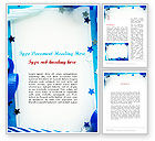 Holiday/Special Occasion: Festive Invitation Word Template #11638