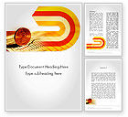 Financial/Accounting: Financial Analysis Report Word Template #11645