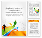 Business Concepts: Customer Acquisition Word Template #11649