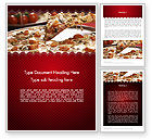 Food & Beverage: Delicious Pizza Recipes Word Template #11651