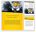 Careers/Industry: Respiratory Protection Word Template #11655