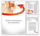 Medical: Cellulite Treatment Word Template #11676