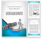 Business Concepts: Nothing Can Stop You Word Template #11684