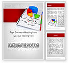 Education & Training: Training Plan with Pie Chart Word Template #11689