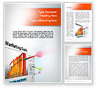 Business Concepts: Marketing Business Sales Plan Word Template #11708