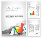 Business Concepts: Designing Data Visualization Word Template #11711