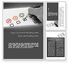 Business Concepts: Customer Retention Word Template #11730