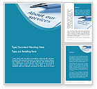 Business Concepts: Our Services Word Template #11755