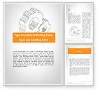 Business Concepts: Work Concept Word Template #11760