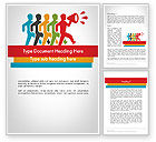 Education & Training: Leiderschap Concept Word Template #11763