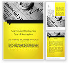 Financial/Accounting: Corporate Financial Planning Word Template #11768