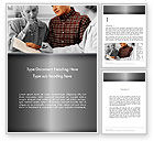 People: Estate Planning Services Word Template #11827