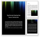Abstract/Textures: Abstract Aurora Word Template #11830