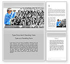Careers/Industry: Work Opportunities Word Template #11845