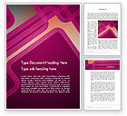 Abstract/Textures: Fantasy in Plum Color Word Template #11846