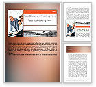 Business: Enterprise Presentation Word Template #11855