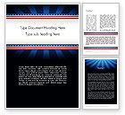 Holiday/Special Occasion: American Festive Theme Word Template #11865