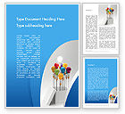 Art & Entertainment: Creative Design Thinking Word Template #11874