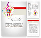 Art & Entertainment: Violin Key Word Template #11875
