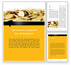 Financial/Accounting: Bitcoins Word Template #11914