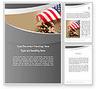 Religious/Spiritual: American Christianity Word Template #11922