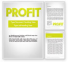 Financial/Accounting: Word PROFIT Word Template #11925