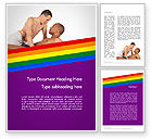 People: Gay Couple Word Template #11926