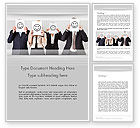 Careers/Industry: Keep Employees Happy Word Template #11930