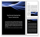 Abstract/Textures: Modello Word - Tema onda blu #11934
