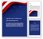 Holiday/Special Occasion: 4th July Theme Word Template #11942