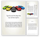 Careers/Industry: New Cars Word Template #11956